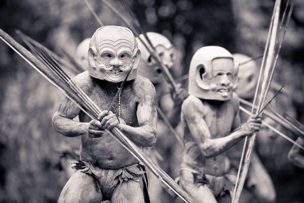 Mudmen, Papua New Guinea